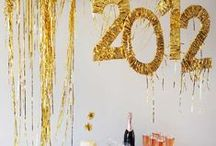 Holiday | New Year's Eve / Celebration and decoration ideas to ring in the New Year. / by Jeni Bishop