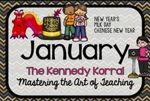 January Teaching Ideas / Fun winter themed activities for kids including New Years', MLK Day, and Chinese New Year.  Find exciting science experiments and STEM ideas, too.