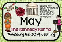 May Teaching Ideas / Fun Mother's Day themed activities for kids including flowers, poems, and thank you notes.  Find exciting science experiments and STEM ideas, too.