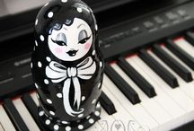 MatryOshka LOve / Russian Nesting dolls in all their permutations. / by Sallie M. Hunter/PlayingKoi