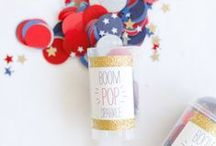 Holiday | Fourth of July / Celebration and decoration ideas for Independence Day. / by Jeni Bishop
