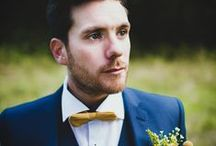 Groom Style / Dapper and dashing grooms and groomsmen attire. / by Whimsical Wonderland Weddings