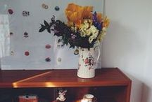 My Retro Colourful Home / Retro, colourful, white, bright UK interior ideas.