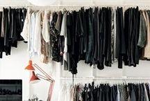 DRESSING ROOM / #DRESSINGROOM, CLOSET, CLOTHES, STORAGE, DECORATION / by Lisa Brandstaetter