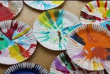 Kids Craft Ideas / I have two nieces who I encourage to be creative & artistic & to explore different things.  These are ideas that I think they will enjoy trying...