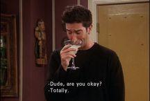 F.R.I.E.N.D.S / Monica, Rachel, Phoebe, Ross, Chandler and Joey / by Nicole Szymanski