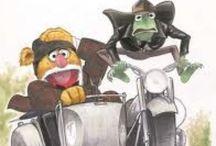 Pop Cultural Muppets / Muppets in Pop Culture / by Nicole Szymanski