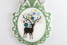 Fawn'd of Deer / Oh Deery me, deer everywhere. Decor crafts, and more