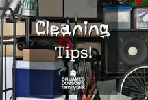 Cleaning Tips! / Tips and ideas to help keep your house clean!