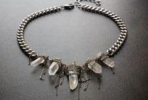 quartz jewelry / by BevaStyles