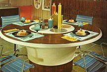 1spaces - vintage dining rooms