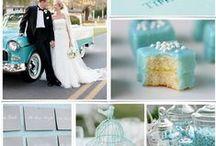 BLUE wedding ideas / Blue wedding ideas for your perfect wedding!