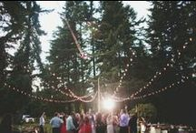 Wedding Lighting / Light up your day with atmospheric lighting ideas. / by Whimsical Wonderland Weddings