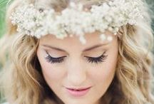 Bridal Flower Crowns / The prettiest floral bridal & wedding hair accessory ideas. / by Whimsical Wonderland Weddings