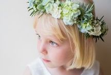 Flower Girls & Page Boys / The sweetest little ones in the most adorable outfits. / by Whimsical Wonderland Weddings