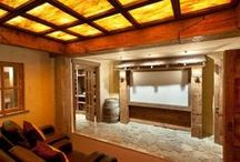 Home Theaters / Sharon McCormick Designs is currently transforming a client's basement into a swanky home theater!  Read her article here:  http://tinyurl.com/lcof4ua