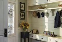"""Mud Rooms / Find inspiration in these innovative mud room designs. Read this week's article from Sharon McCormick Interior Design, """"Mud Room Design"""", here:  http://tinyurl.com/men7n8j"""