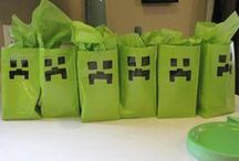 Zamier's Minecraft birthday party / Party/Decorating/Craft ideas for Zamier 10th birthday / by Chasity DevyneCreations