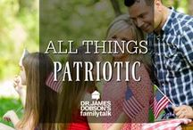 All Things Patriotic /  Food, decorations and party ideas to celebrate Memorial Day, 4th of July and every other time you are feeling patriotic