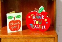 Teacher Appreciation Gifts / Lots of things teachers would love to receive at the end of term - we think they deserve it! Teacher appreciation gifts!