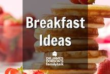 Breakfast Ideas / Find some ideas for the first and most important meal of the day! Whether you have an entire morning to cook something special or you need something quick to eat as you are running out the door.