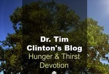 Dr. Tim Clinton's Blog / Hunger and Thirst Devotional is Dr. Tim Clinton's personal blog where he writes about marriage issues, parenting issues and other spiritual issues. (Found on drjamesdobson.org)