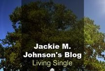 Blog: Living Single - Jackie M. Johnson / Living Single is Jackie M. Johnson's personal blog. She is an author and freelance writer who enjoys bringing biblical hope and practical help to singles worldwide. (Found on drjamesdobson.org)
