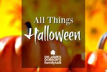 All Things Halloween / Family friendly ideas for decorations, treats, desserts, games, and costumes for your family on Halloween.