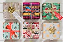 Christmas Gift Wrap / Make giving special with our beautiful wrapping paper, bags, boxes and wrapping accessories and trim. Here is a board of some of our favourite gift wrap this season.