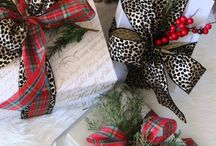 Xmas: All Wrapped Up / Holiday Pressie wrapping ideas and fun greeting cards