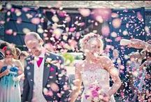 Confetti Fun at Weddings / Colourful happy confetti shots and ideas. / by Whimsical Wonderland Weddings