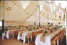 Marquee Weddings / Pretty marquee wedding ideas from real UK weddings. / by Whimsical Wonderland Weddings
