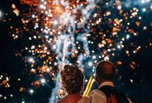 Fireworks at Weddings / Magical fireworks from real UK weddings.
