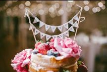 Wedding Cake Toppers / Make your wedding cake super personal with these topper ideas. / by Whimsical Wonderland Weddings