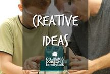 Creative Ideas / Find some creative ideas for you to do for your family and around your house.