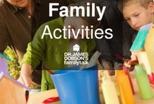 Family Activities / Need something to do with your family? Look here for a few fun ideas for you and your family to spend time together other than sitting on your couch watching T.V. and looking at your phones!