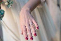 Wedding Nails / Wedding nail art ideas for brides.