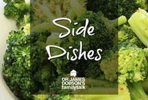 Side Dishes / Got some ideas for something to add to you dinners. Try something new!