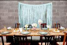 Wedding Backdrops / Beautiful backdrops for wedding ceremonies & receptions.
