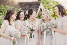 Wedding Bridesmaid Bouquets / The prettiest flowers for your beautiful maids from real weddings.