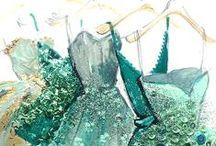 Aquamarine -  March Birthstone / For all things March and Aquamarine