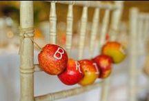 Autumn Weddings / Rich warm tones, rustic and seasonal Autumn wedding ideas. Divine!