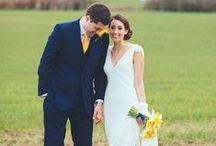 Yellow Weddings / Yellow wedding ideas and inspiration.