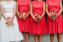 Orange Weddings / Orange wedding ideas and inspiration.