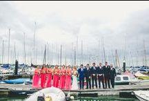 Nautical Weddings / Oh I do like to be beside the seaside... Gorgeous nautical and beach wedding ideas and inspiration.