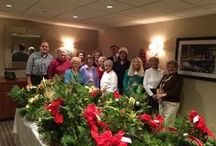 Holiday Basket Extravaganza / Baskets for the Westwood Pantry at Fox Hill Village
