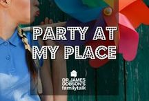 Party At My Place / Ideas for hosting your friends and family at your house!