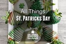 All Things Saint Patrick's Day / Fun, family-oriented ideas for you and your children to do surrounding Saint Patrick's Day.