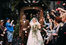 1940s Inspired Weddings / Vintage style 1940s weddings to inspire from real wedding ideas.