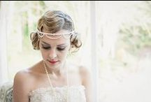 1920s & 1930s Inspired Weddings / Beautiful 1920s and 1930s era focused wedding ideas and inspiration.